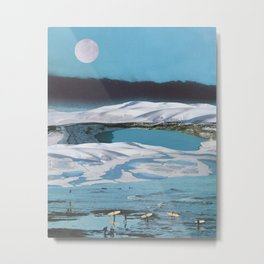 Arctic Aquamarine Metal Print