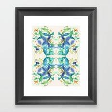 Bamboo Garden Framed Art Print