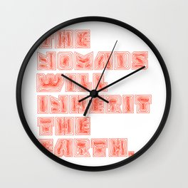 The NOMADS Wall Clock