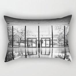 Crown Hall Interior Rectangular Pillow
