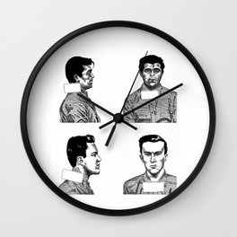 Dick and Perry Wall Clock