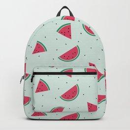 Summer Watermelon Slices Fruit retro vintage Backpack