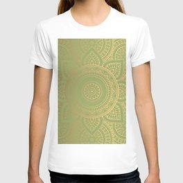Gold Mandala 11 T-shirt
