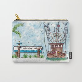 Mississippi Gulf Coast Carry-All Pouch