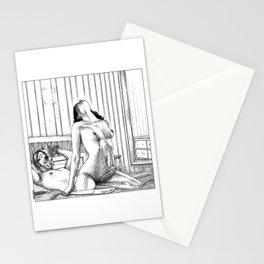 asc 831 - Le sommeil du monstre (Freaking Friday) Stationery Cards