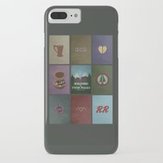 Twin Peaks colors iPhone 7 Plus Slim Case