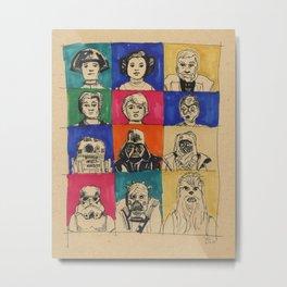 The Original Twelve Metal Print