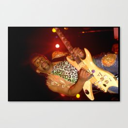 "Mike ""Kid Funkadelic"" Hampton Canvas Print"