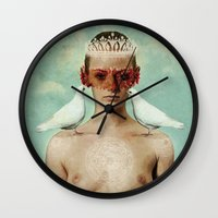 serenity Wall Clocks featuring Serenity by Seamless