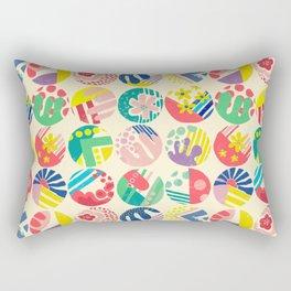 Abstract circle fun pattern Rectangular Pillow