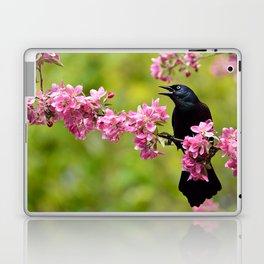 Spring Grackle Laptop & iPad Skin