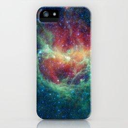 704. Chasing Chickens in the Lambda Centauri Nebula iPhone Case
