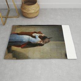The Kiss (Il Bacio) - Francesco Hayez 1859 Rug