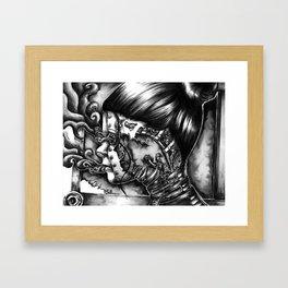 Alzheimers by Kate Morgan Framed Art Print