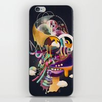 homer iPhone & iPod Skins featuring HOMER ON ACID by Mathis Rekowski