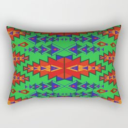 Indian Designs 251 Rectangular Pillow