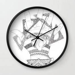 Crazy Hand Wall Clock