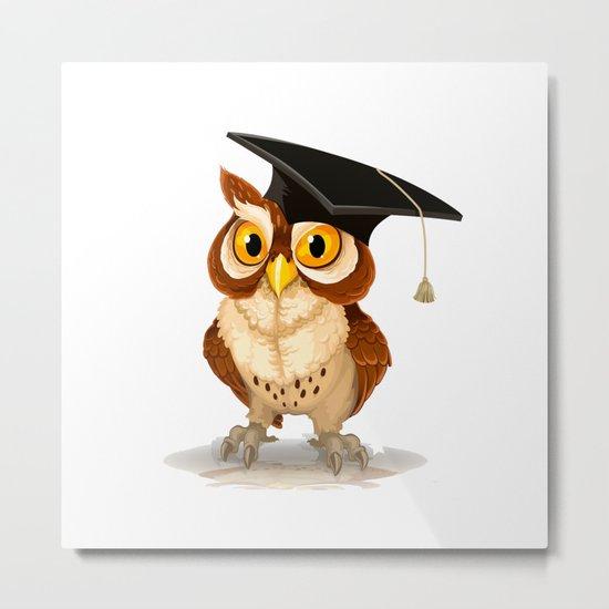 Graduated OWL Metal Print