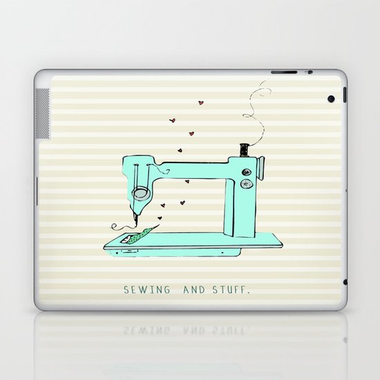 sew and stuff... Laptop & iPad Skin