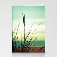 dune Stationery Cards featuring Dune View by ALLY COXON