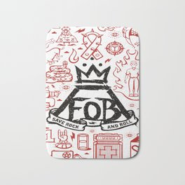 Save Rock and Roll Fall Out FOB Boy Bath Mat