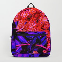 Red and Blue Sideways Sumac Backpack