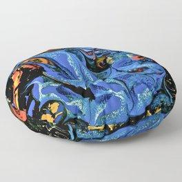 Color Explosion 4 Floor Pillow