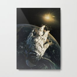 floating in the abyss Metal Print