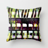 glass Throw Pillows featuring Glass by Anna Brunk