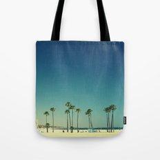 Summer Beach Blue Tote Bag