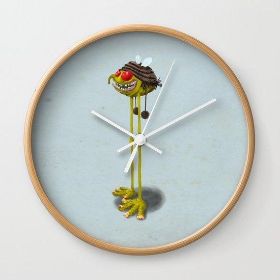 I'M SOOooo CUTE & NICE! WHY YOU PEOPLE DON'T SEE THAT? Wall Clock