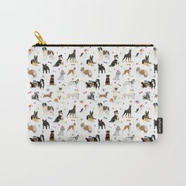 Various Dogs Pattern Carry-All Pouch