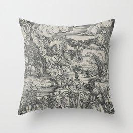 Woman of Babylon Throw Pillow