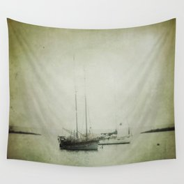 Two boats Wall Tapestry
