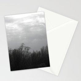 trees and skies. Stationery Cards