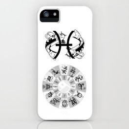 Pisces, the Fish iPhone Case