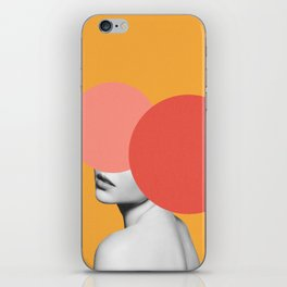 The Hidden Face iPhone Skin