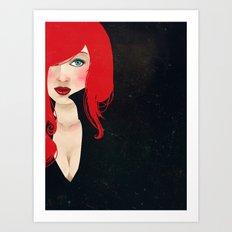 Natasha Romanoff Art Print