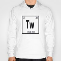 periodic table Hoodies featuring Periodic  by Threads Wear