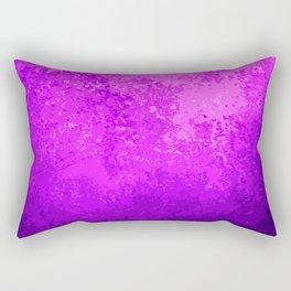 Purple Light Cave Rectangular Pillow