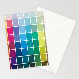 Colorful Soul - All colors together Stationery Cards