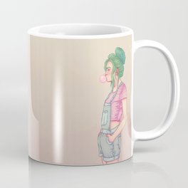 Bubbly Lady Coffee Mug