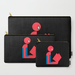 Gentleman Spider Reads Carry-All Pouch
