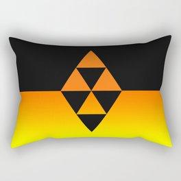 Legend Of Zelda Triforce Rectangular Pillow