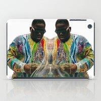biggie smalls iPad Cases featuring Biggie Smalls by IFEELFREEDXM