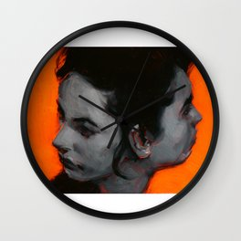 Coming and Going Wall Clock