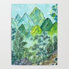 Emerald Woods Poster
