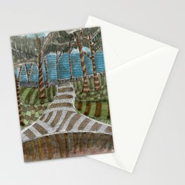 Meandering Landscapes: Swirling Around (BP) Stationery Cards