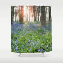 Bluebell Sunrise Shower Curtain