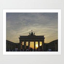 Brandenburg Gate, Berlin Art Print
